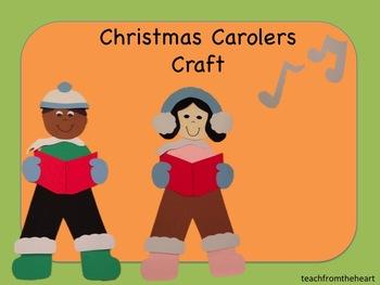 Christmas Carolers Craft (A Christmas Craft)