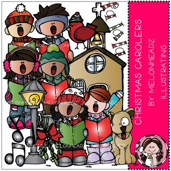 christmas carolers clip art combo pack by melonheadz by melonheadz rh teacherspayteachers com victorian christmas carolers clipart victorian christmas carolers clipart