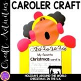 Christmas Caroler Craft   Christmas in England   Holidays Around the World