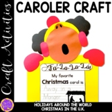 Christmas Carolers Craft Activity