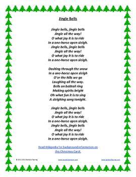 11 Christmas Carols with traditional lyrics and music