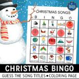 Christmas Carols Bingo
