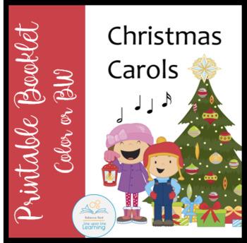 Christmas Carols Booklet By Rebecca Reid Teachers Pay Teachers