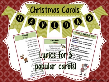 Christmas Carols / Canciones de Navidad (Spanish / Español)