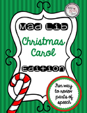 Christmas Carols Mad Lib (Parts of Speech)