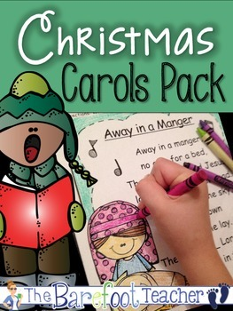 Christmas Carols Pack with Focus on High Frequency Words