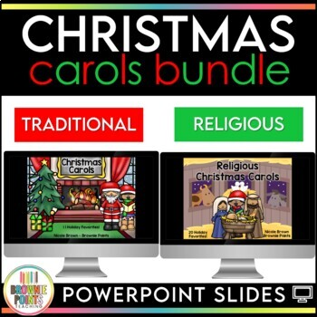 Christmas Carols - Sing Along! {BUNDLE}