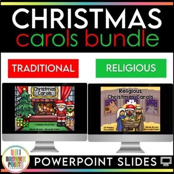Christmas Carols - Sing Along! {BUNDLE}