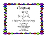 Christmas Carols Song Book Lyrics - 6 Songs - Religious/Christian