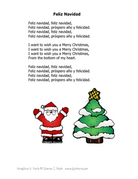 Christmas Carols in English and Spanish