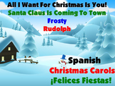 Christmas Carols in Spanish with Lyrics and Video Links Included