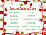 Christmas Songbook with Backing Tracks