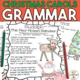 Christmas Carols Grammar Activities