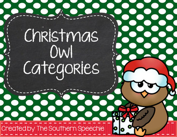 Christmas Categories