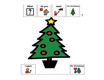Christmas Categories, Describing, and Preposition for Speech Therapy (autism)