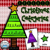 Christmas Categories {FREEBIE}
