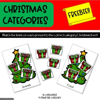 Christmas Categories - Freebie!!