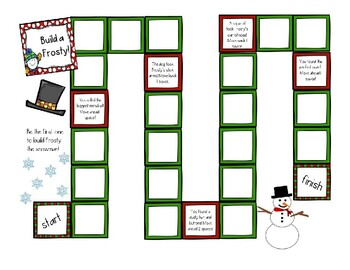 Christmas Categories Game