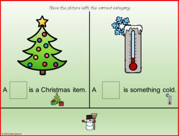 Christmas Categories: No Print, Interactive