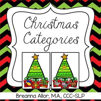 Christmas Categories with Visuals