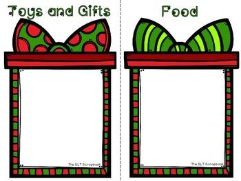 Christmas Category Sorting Game - Sorting with Santa