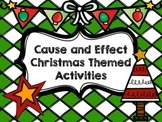 Christmas Cause and Effect Activities
