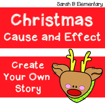 Christmas Cause and Effect FREEBIE!