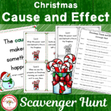 Christmas Cause and Effect Scavenger Hunt