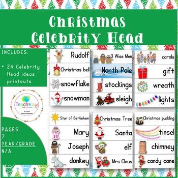 Christmas Celebrity Head