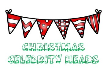 Christmas Celebrity Heads