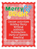 Christmas Center Activities: Merry & Bright!