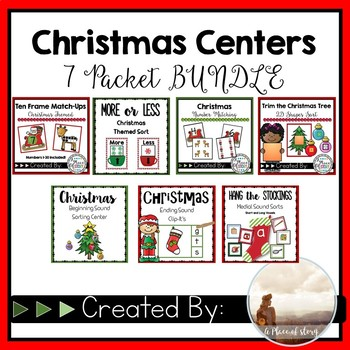 Christmas Center BUNDLE