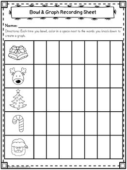 Christmas Center Freebie: Bowl & Learn