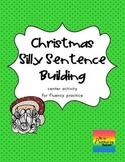 Christmas Center: Silly Sentences {Fluency}
