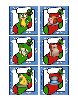 Christmas Center ~ Stocking Stuffers Phonics