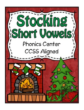 Christmas Center ~ Stocking Stuffers Phonics