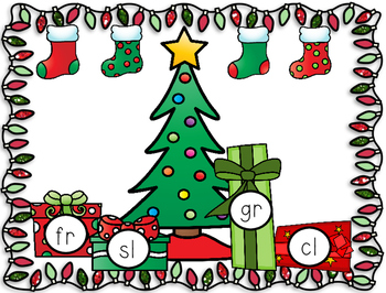 Christmas Center Time Fun! For Math and Literacy