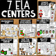 Christmas Centers | Christmas Math & Literacy Centers & Elf Craft