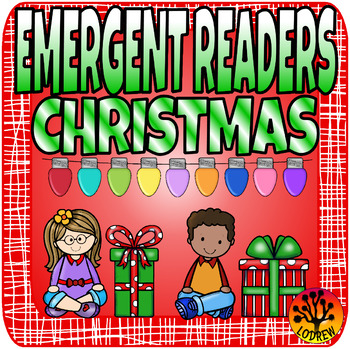 Christmas Emergent Readers Christmas Centers Activities Literacy Math Reading