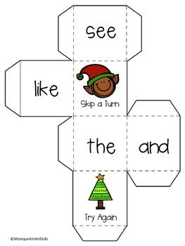 Christmas Literacy Centers- Kindergarten