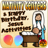 Christmas Centers Activities Religious Centers Nativity Math Literacy