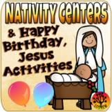 Nativity Centers Happy Birthday Jesus Activities Religious Centers Christmas