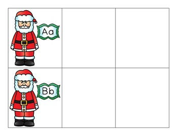 Christmas Centers - Santa's Beginning Sound Search