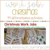 Christmas Centers, Small Group and Work Jobs
