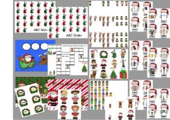 Christmas Centers Workstations Pre-K & Kindergarten