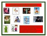 Christmas Challenge! Holiday Character Trait, Evidence, Reasoning: ELA/Math