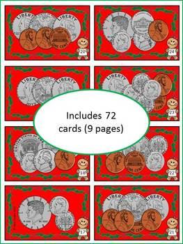 Christmas Change War - Practicing Amounts Up To $1.00