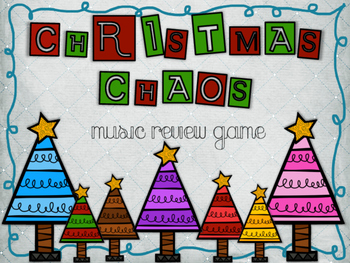 Music Review Game - Christmas Chaos