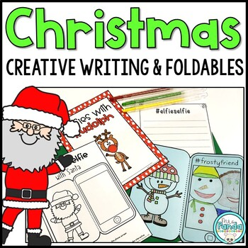 Christmas Character Selfie and Creative Writing