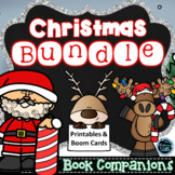 Christmas Character Traits Activities - Book Companions Bundle